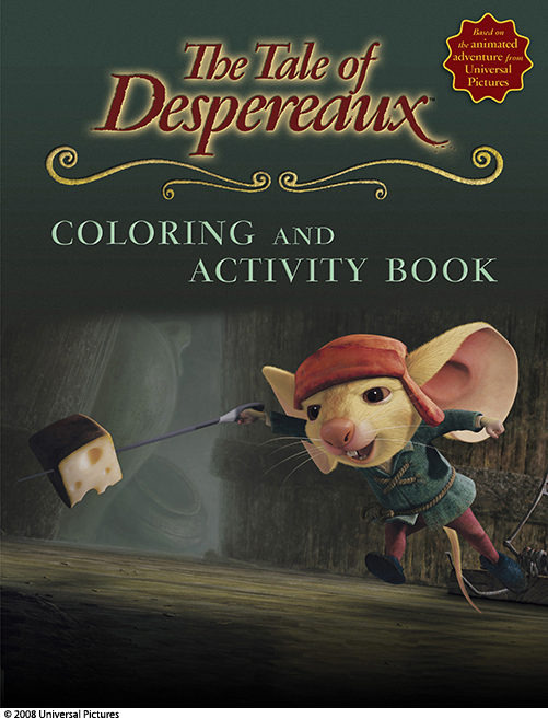 the tale of despereaux coloring pages - candlewick press the tale of despereaux the coloring