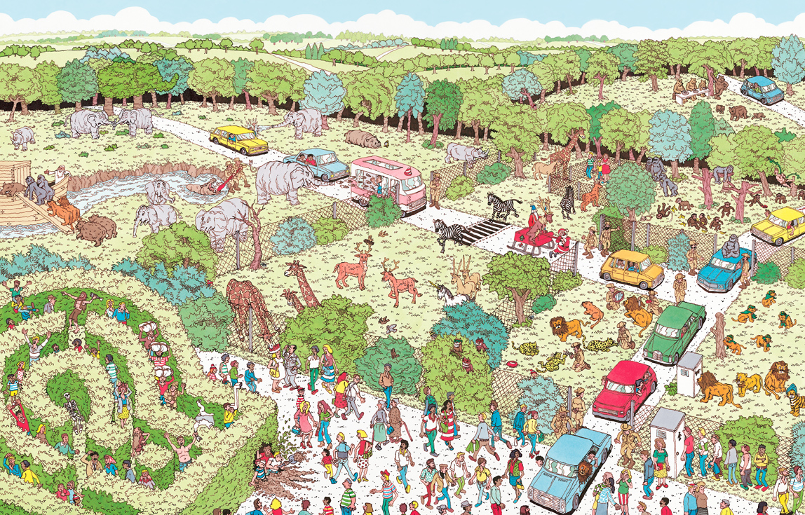 Candlewick Press - Where's Waldo? The Spectacular Poster book